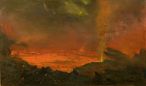 David Howard Hitchcock's 'Halemaumau, Lake of Fire', (1888)