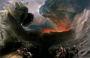 John Martin's 'The Great Day of His Wrath'